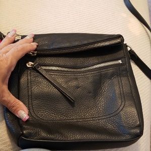 Vince Camuto Leather Black Crossbody